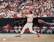 "Pete Rose ""4256"" Signed Cincinnati Reds 16x20 Photo (JSA COA)"