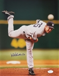 Mike Mussina Signed New York Yankees 11x14 Photo (JSA COA)