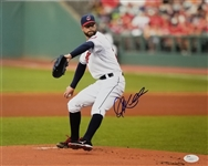 Corey Kluber Signed Cleveland Indians 11x14 Photo (JSA COA)