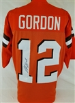 Josh Gordon Signed Cleveland Browns Custom Jersey (JSA Witness COA)