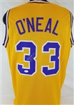 Shaquille ONeal Signed LSU Tigers Custom Jersey (JSA Witness COA)