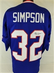 O.J. Simpson Signed Buffalo Bills Custom Jersey (JSA Witness COA)