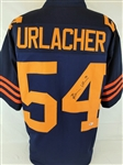 Brian Urlacher Signed Chicago Bears Custom Throwback Jersey (Beckett Witness COA)