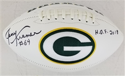 "Jerry Kramer ""HOF 2018"" Signed Green Bay Packers Logo Football (JSA Witness COA)"
