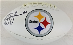 JuJu Smith-Schuster Signed Pittsburgh Steelers Logo Football (JSA Witness COA)