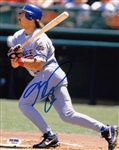 Mike Piazza Signed Los Angeles Dodgers 8x10 Photo (PSA/DNA COA)