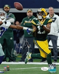 Davante Adams Signed Green Bay Packers 8x10 Photo (JSA Witness COA)