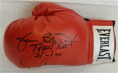 "James Buster Douglas ""Tyson KO 2.10.90"" Signed Everlast Boxing Glove (JSA Witness COA)"