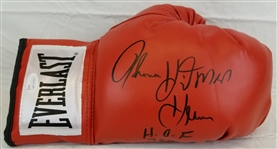 "Thomas ""Hitman"" Hearns ""HOF 2012"" Signed Everlast Boxing Glove (JSA Witness COA)"