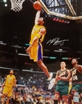 Kobe Bryant Signed 16x20 Photo with Vintage Full Name Signature (PSA/DNA COA)