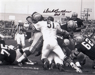 "Dick Butkus ""HOF 79"" Signed Chicago Bears 8x10 Photo (Tristar COA)"