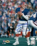 Jim Kelly Signed Buffalo Bills 8x10 Photo (JSA COA)