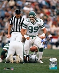 Mark Gastineau Signed New York Jets 8x10 Photo (JSA COA)