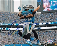 Christian McCaffrey Signed Carolina Panthers 8x10 Photo (PSA/DNA COA)