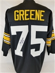 "Joe Greene ""HOF 87"" Signed Pittsburgh Steelers Custom Jersey (JSA COA)"