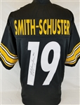 JuJu Smith-Schuster Signed Pittsburgh Steelers Custom Jersey (JSA Witness COA)