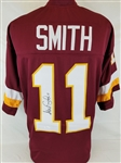 Alex Smith Signed Washington Redskins Custom Jersey (JSA Witness COA)