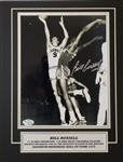 Bill Russell Signed Boston Celtics 8x10 Photo Matted Display (Hollywood Collectibles COA)