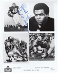 "Gale Sayers ""Best Wishes"" Signed Chicago Bears HOF 8x10 Photo (JSA COA)"
