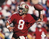 Steve Young Signed San Francisco 49ers 8x10 Photo (JSA COA)