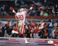 Jerry Rice Signed San Francisco 49ers 8x10 Photo (JSA COA)