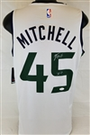 "Donovan Mitchell ""Spida"" Signed Utah Jazz NBA Official Licensed Fanatics Jersey (JSA COA)"