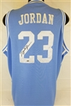 Michael Jordan Signed North Carolina Nike Elite Official Licensed Jersey (UDA COA)
