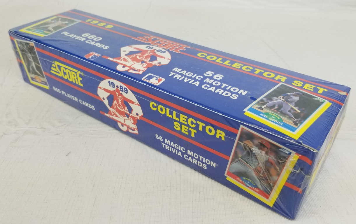 Lot Detail 1989 Score Baseball Sealed Complete Set Of 660 Cards