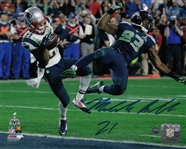 Malcolm Butler Signed Patriots Super Bowl 49 8x10 Photo (Steiner COA)
