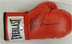 Mike Tyson Signed Red Everlast Right Hand Boxing Glove (Tristar COA)