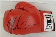Mike Tyson Signed Red Everlast Left Hand Boxing Glove (Tristar COA)
