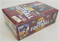 1991 Score Football Series 1 Factory Sealed Box w/ 36 Wax Packs