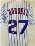 Addison Russell Signed Chicago Cubs Custom Jersey (JSA COA)