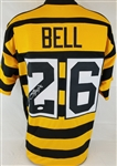 LeVeon Bell Signed Pittsburgh Steelers Custom Throwback Jersey (JSA Witness COA)