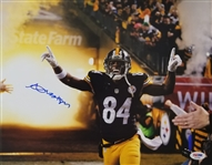 Antonio Brown Signed Pittsburgh Steelers 11x14 Photo (PSA/DNA COA)