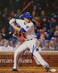 Kris Bryant Signed Chicago Cubs 11x14 Photo (JSA COA)