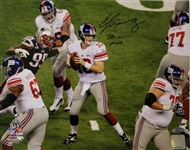 "Eli Manning ""SB XLVI MVP"" Signed New York Giants 11x14 Photo (Steiner COA)"