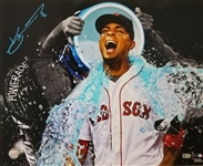 Xander Bogaerts Signed Boston Red Sox 16x20 Photo (MLB Certified)