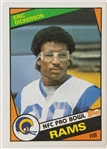 Eric Dickerson Los Angeles Rams 1984 Topps Rookie Card #280