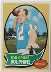 Bob Griese Miami Dolphins 1970 Topps #10 Football Card