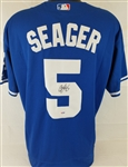 Corey Seager Signed Los Angeles Dodgers Jersey (PSA/DNA COA)