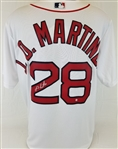 J.D. Martinez Signed Boston Red Sox Majestic Cool Base Jersey (Steiner COA)
