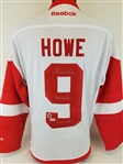 "Gordie Howe ""Mr. Hockey"" & ""HOF 1972"" Signed Authentic Reebok Detroit Red Wings Jersey (PSA/DNA COA)"