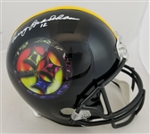 Terry Bradshaw Signed Full Size Replica Pittsburgh Steelers Helmet (JSA Witness COA)