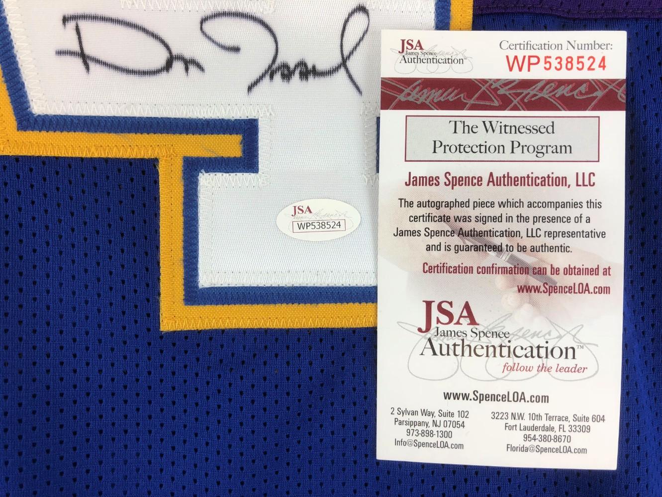 Dan Issel Signed Denver Nuggets Throwback Jersey (JSA Witness COA). Prev  Next 32fabae6f