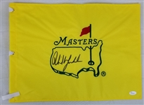 Phil Mickelson Signed Masters Golf Pin Flag (JSA LOA)