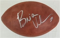 Brian Urlacher Signed Official Wilson NFL Tagliabue Game Football (JSA COA)