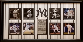 New York Yankees Captains 17x29 Framed Photo Display
