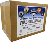 #1 of 10 - Autographed Full Size Helmet Mystery Box Series 1 - *Two Bonus $50 credits!*