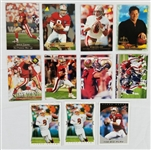 Lot of (11) Steve Young San Francisco 49ers Football Cards